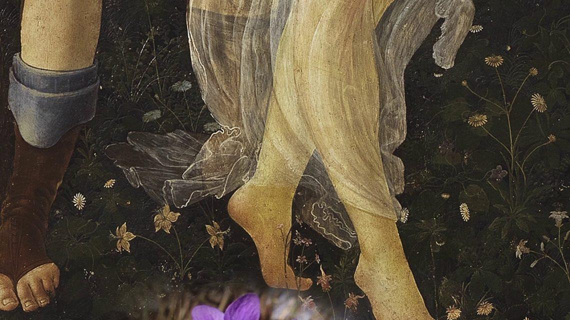 (Dettaglio de La Primavera di S. Botticelli)